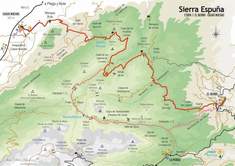 Ruta Esputrek. Etapa 1. Sierra Espuña