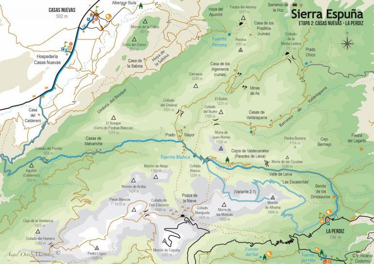 Ruta Esputrek. Etapa 2. Sierra Espuña
