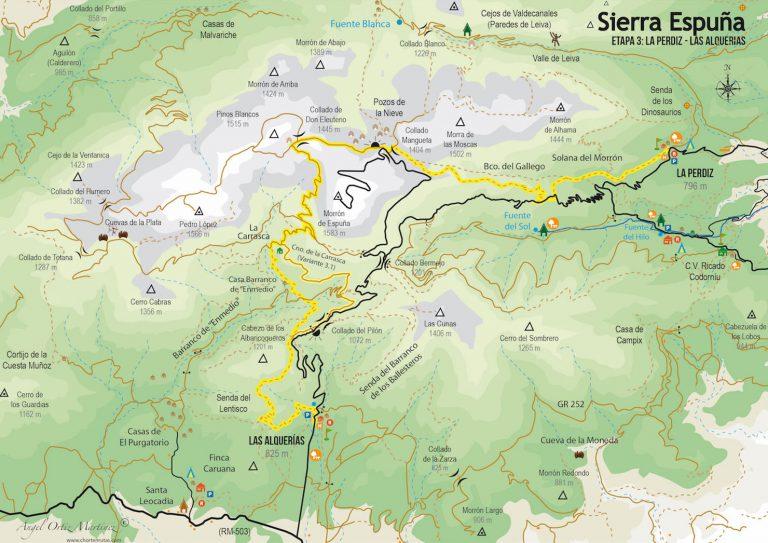 Ruta Esputrek. Etapa 3. Sierra Espuña