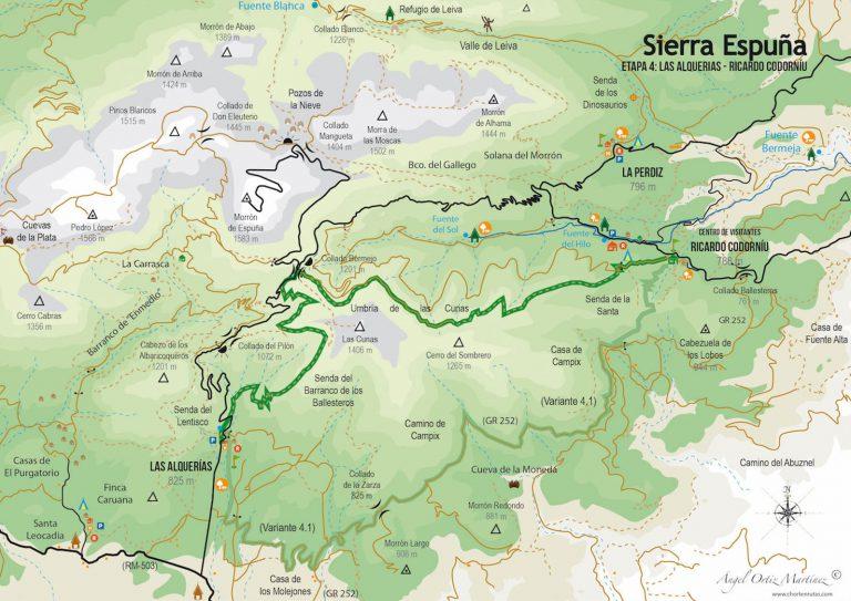 Ruta Esputrek. Etapa 4. Sierra Espuña