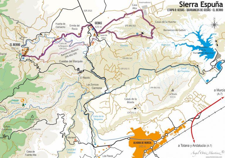 Ruta Esputrek. Etapa 6. Sierra Espuña