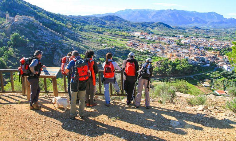 Experiencias Sierra Espuña. Momentos panorámicos