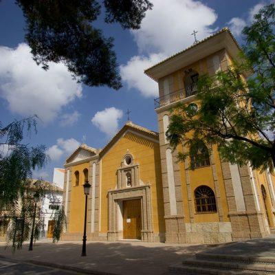 Iglesia de La Concepción. Alhama de Murcia. Sierra Espuña