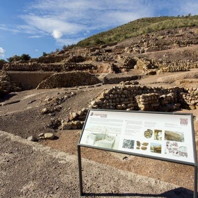 Yacimiento La Bastida. Totana. Sierra Espuña