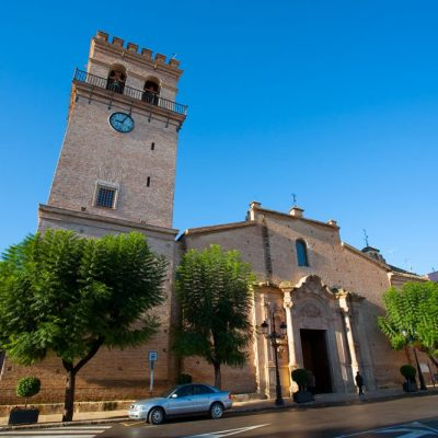 Iglesia de Santiago Apóstol. Totana. Sierra Espuña