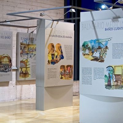 Museo de Los Baños. Alhama de Murcia. Sierra Espuña