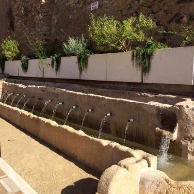 Fuente de Los Caños. Pliego. Sierra Espuña