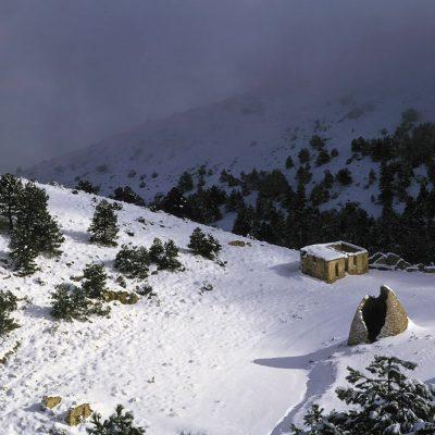 Pozos de La Nieve. Sierra Espuña